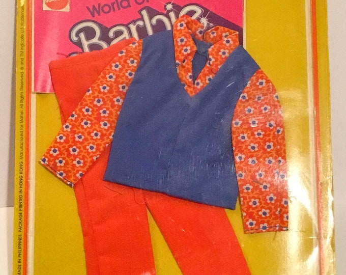 1975 KEN DOLL Best Buy Fashions CLOTHING # 2243 2-Piece Outfit