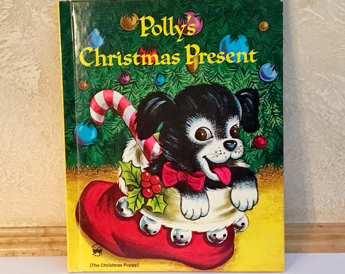 POLLY'S CHRISTMAS PRESENT Wonder Book