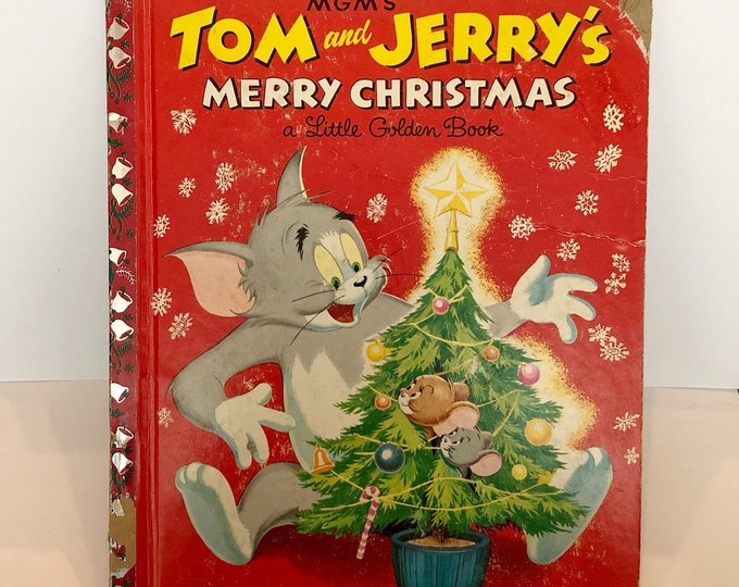 1954 MGM's TOM & JERRY'S Merry Christmas
