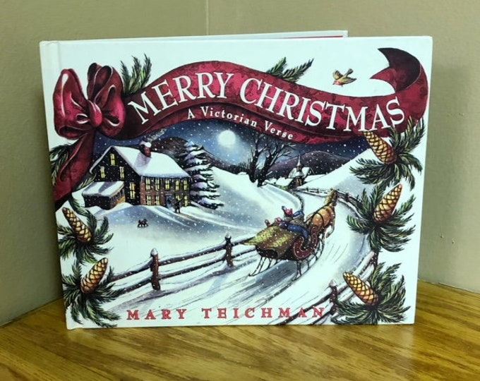1993 MERRY CHRISTMAS: A Victorian Verse Children's Book