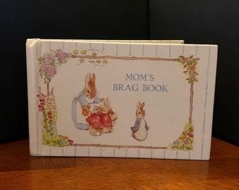 Vintage Mom's BRAG BOOK Photo Album, Beatrix Potter, 1990s