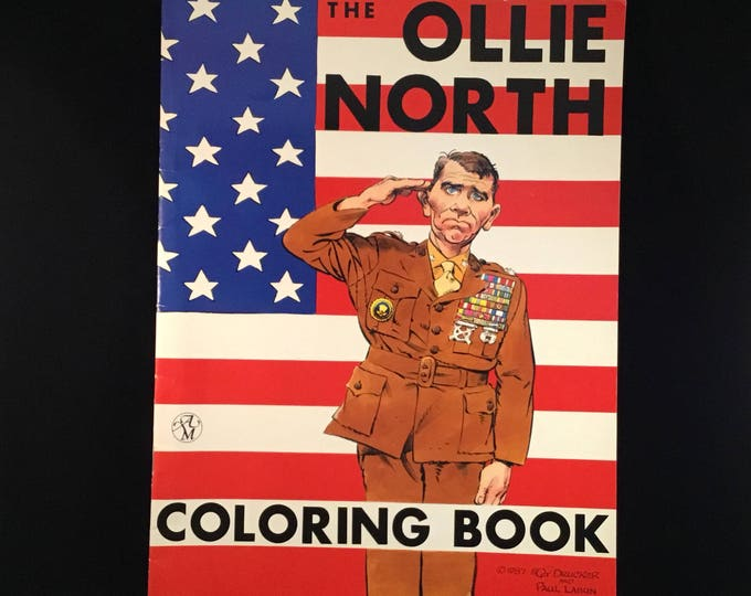 The Ollie North Coloring Book (1987)