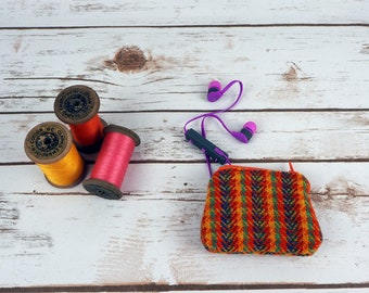 Little Harris Tweed Coin purse - change purse - small pouch