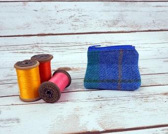 Little Harris Tweed Coin purse - earphone pouch