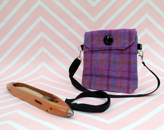 Verity - Harris Tweed cross body handbag - Bum bag - Fanny Pack - Dog Walking Bag