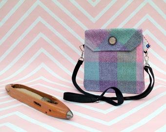 Verity - Harris Tweed cross body handbag - Bum bag - Fanny Pack - Dog Walking Bag