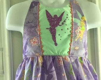 Tinker bell inspired halter dress