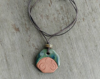 Essential Oil Necklace/ Terracotta Necklace / Aromatherapy Necklace/ Personal Diffuser