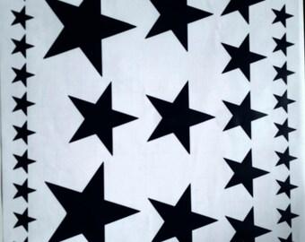Star Vinyl Wall Decal - Star Vinyl Wall Sticker - Nursery Wall Decal - night sky - patriotic