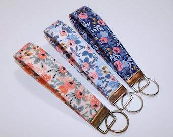 Rifle Paper Co Key Fob - Key Fob Wristlet - Wrist Lanyard - Womens Key Chain  - Key Lanyard - Friend Gift - Key Chain For Women dd943f3f3e