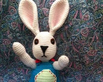 Amigurumi Rabbit - Crochet Easter Bunny - Ami Rabbit - READY TO GO
