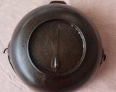 Gatemark Cast Iron Large Scotch Bowl Cleaned Seasoned