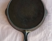 National 8 Cast Iron Skillet Cleaned Seasoned