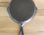 Griswold Erie, PA 3 Small Logo 709 Cast Iron Skillet Cleaned Seasoned