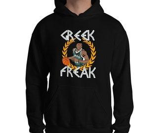 49c7df0566d Greek Freak Graphic Hoodie