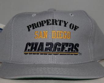 Vintage San Diego Chargers New Era NFL Snapback Hat 094fb6528