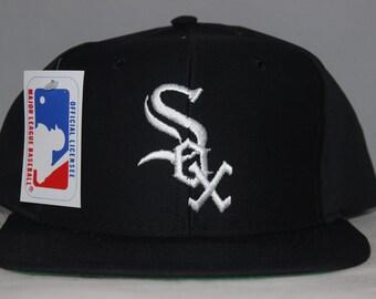 936b58df23ad Vintage Deadstock Chicago White Sox MLB Snapback Hat