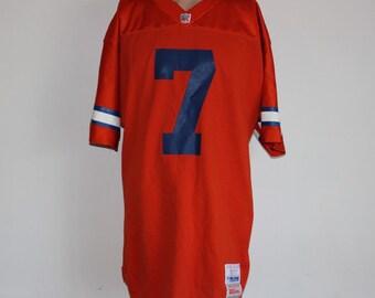 Vintage Denver Broncos John Elway Authentic Pro Line NFL Jersey 44 e87df20f6