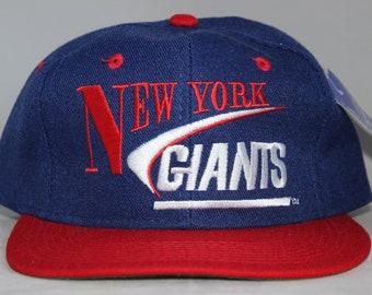 93db34e7c33 Vintage Deadstock New York Giants NFL Snapback Hat