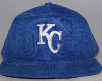 dddf90b8 ... 2015 world series commemorative gold ac 59fifty cap 5fe16 901a3;  clearance vintage deadstock kansas city royals mlb corduroy strapback hat  62ea3 5433f