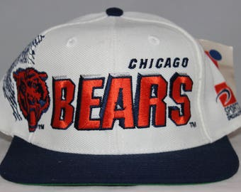 ... top quality vintage deadstock chicago bears sports specialties shadow snapback  hat 25f6d d2731 b496db70e