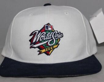 Vintage 1999 MLB World Series Starter Snapback Hat 180362d77