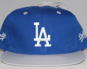 the best attitude b34b0 98180 ... good vintage deadstock los angeles dodgers mlb snapback hat 5549c 51543