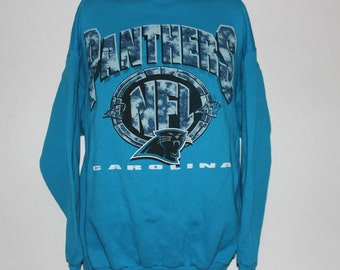 f2530e517 Vintage Carolina Panthers NFL Crewneck Sweatshirt L