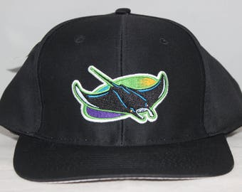 sports shoes 9d013 3d95b Vintage Tampa Bay Devil Rays MLB Snapback Hat