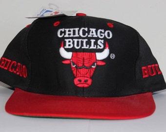 Vintage Deadstock Chicago Bulls NBA Snapback Hat