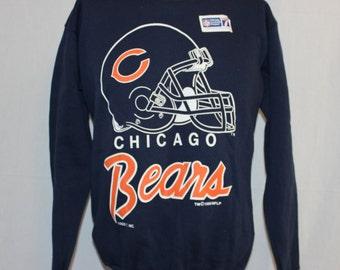 Vintage Deadstock Chicago Bears NFL Crewneck Sweatshirt XL