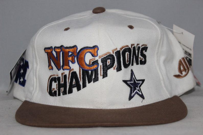 dddcf12ab Vintage Dallas Cowboys NFC Champions NFL Snapback Hat