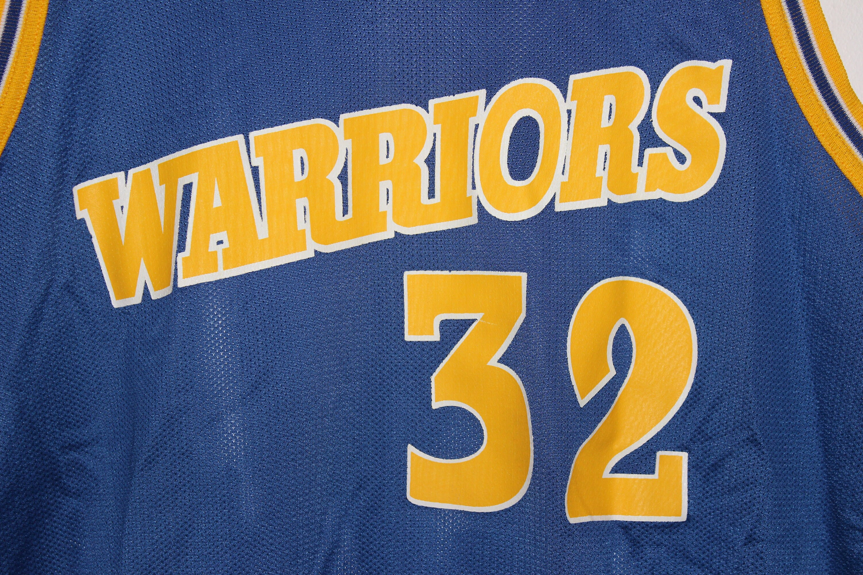 uk availability 3ddcb db7a9 Vintage Golden State Warriors Joe Smith Champion Jersey 44