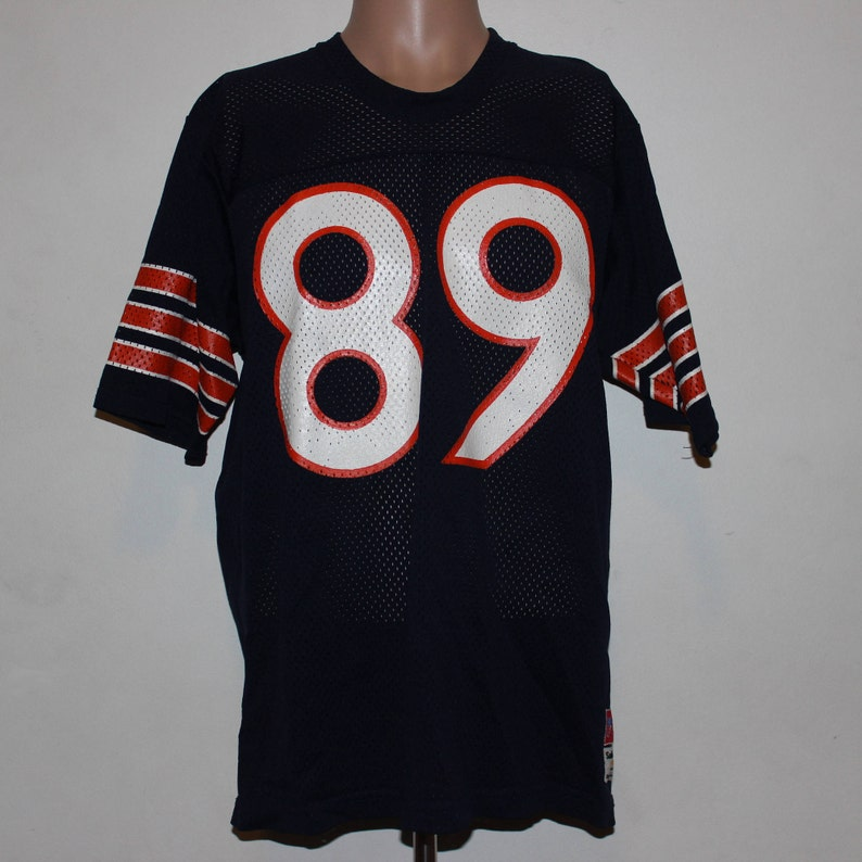 more photos bd168 b804e Vintage Chicago Bears Mike Ditka Sand Knit NFL Jersey XL
