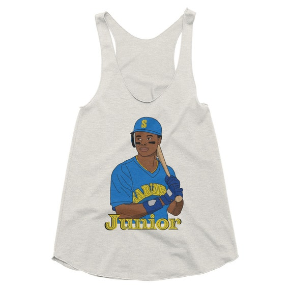 buy online dbd3c 326d0 Women's Ken Griffey Junior Rookie Year Racerback Tank Top