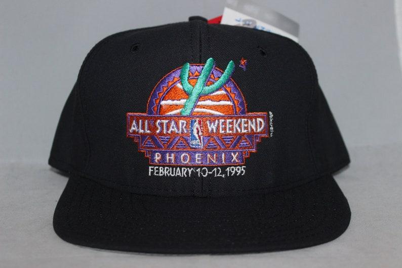 a7476ba819388 Vintage NBA All-Star Game Weekend AJD Snapback Hat