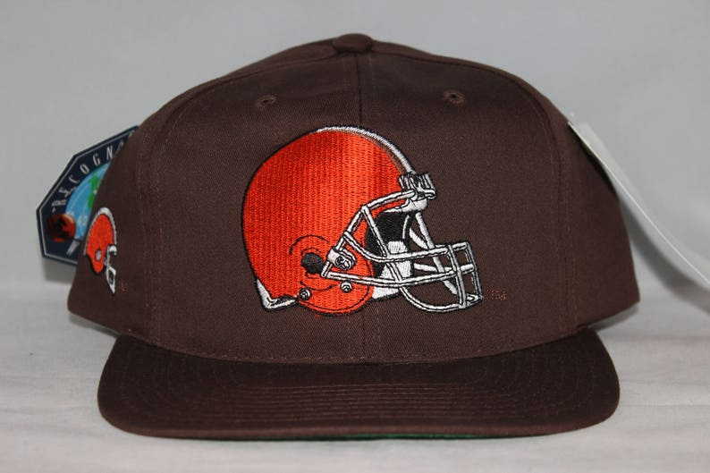 Vintage Deadstock Cleveland Browns American Needle Blockhead  4289740ad98