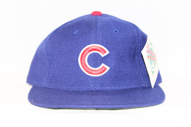 fcd1fc0ac5f Vintage Deadstock Chicago Cubs New Era MLB Fitted Hat 6 3 4