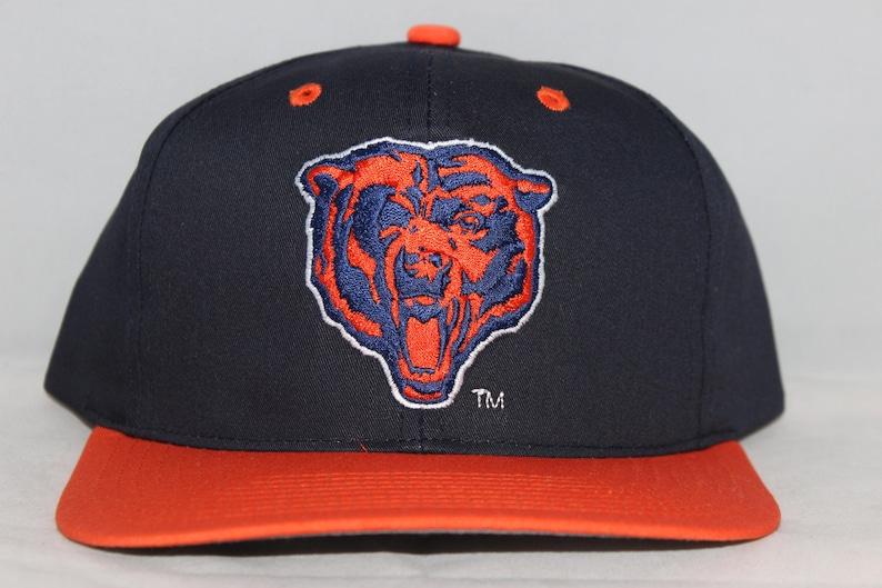 Vintage Deadstock Chicago Bears NFL Snapback Hat  61fbbf856