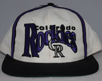 Vintage Colorado Rockies MLB Snapback Hat