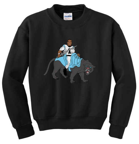 Cam Newton 'Master of the Universe' Graphic Crewneck Sweatshirt gUM7gQ