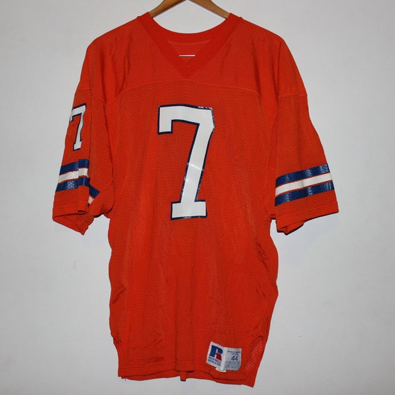 Vintage Denver Broncos John Elway Russell Athletic