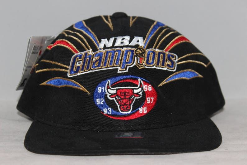 f5268b05297 Vintage Deadstock Chicago Bulls Starter 1998 NBA Champions Hat