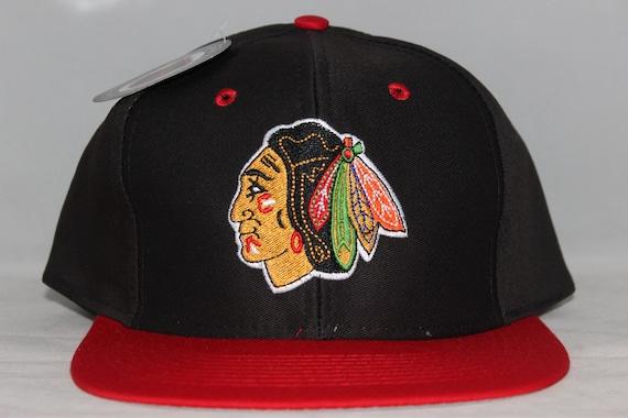 b88827d4ad2 Vintage Deadstock Chicago Blackhawks NHL Snapback Hat