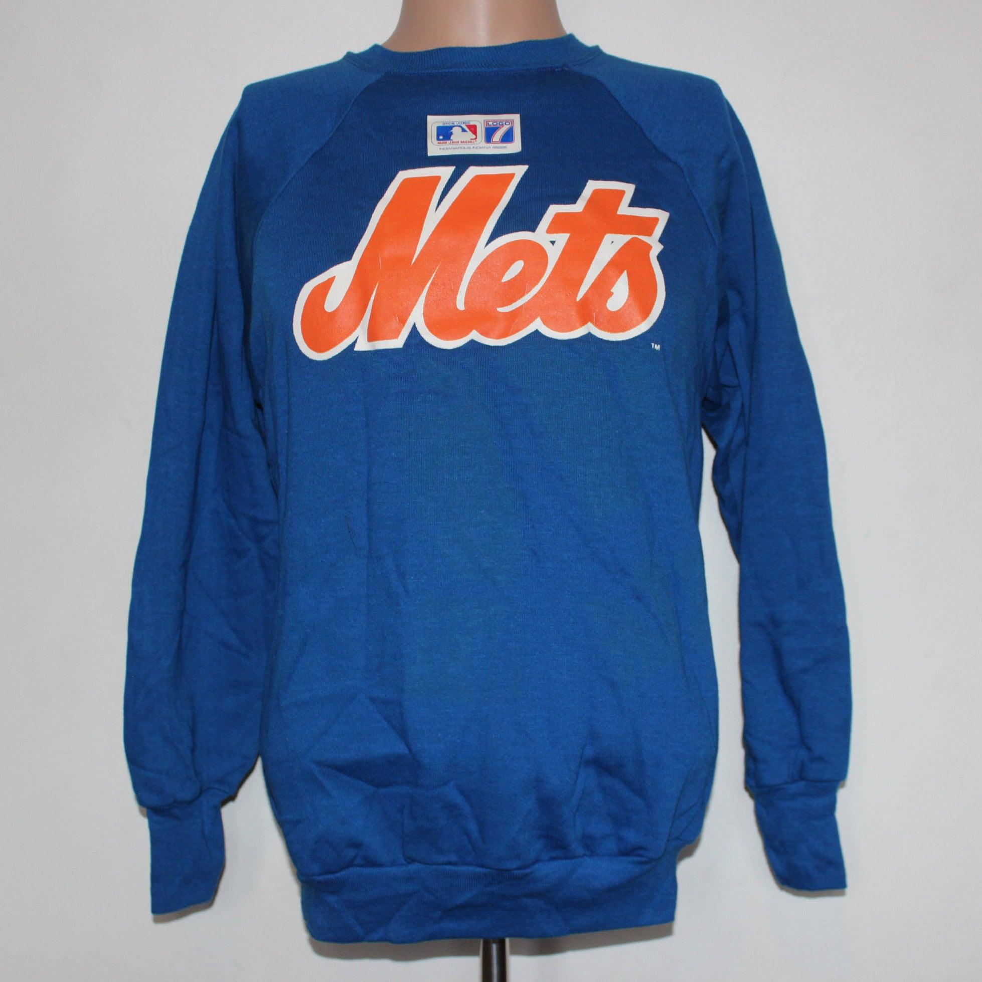 brand new cbf1c 2ed60 Vintage Deadstock New York Mets MLB Crewneck Sweatshirt M