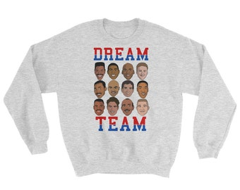 Dream Team Graphic Crewneck Sweatshirt
