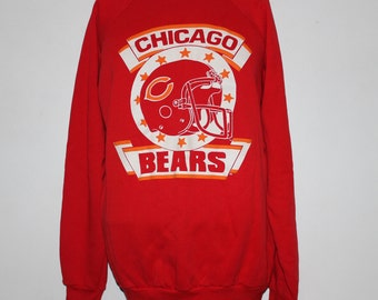 Vintage Chicago Bears NFL Crewneck Sweatshirt L