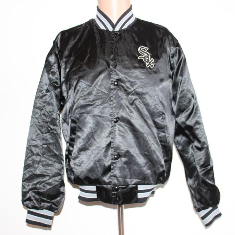 42b132ec8edc Vintage Chicago White Sox Satin Swingster MLB Jacket L