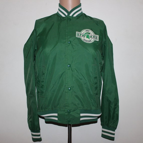 2884ad6afa5ea Vintage Michigan State Spartans Chalk Line Jacket Youth XL