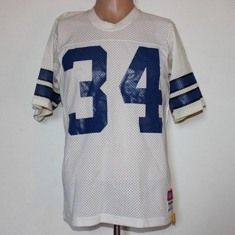 30f626abd64 Vintage Dallas Cowboys Herschel Walker Sand Knit NFL Jersey M | Etsy